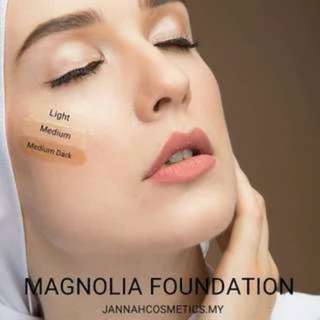 (INSTOCKS AVAIL) Authentic Magnolia Foundation & Jane Lip Matte by Jannah Comestics (ONLY VIA MAILING)