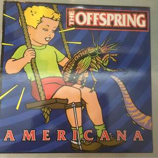 Offspring ‎– Americana, Vinyl LP, Columbia ‎– C 69661, 1998, USA