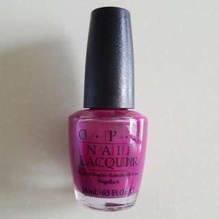 OPI All That Razz-Berry NLW51 (Black Label)
