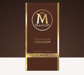 Chocolate bar magnum