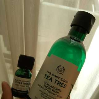 Tea Tree Bodyshop - Facial Wash & Oil