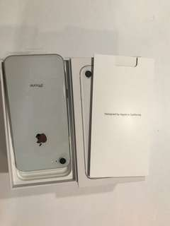IPHONE8-64 GB-Silver-Brand New