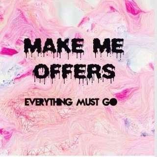 Make offer's