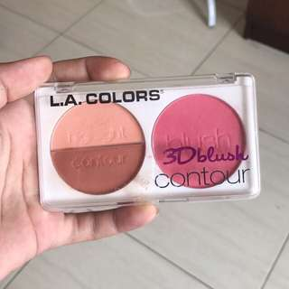 LA colors 3D blush control 3in1