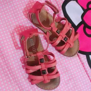 Bare feet real leather sandals