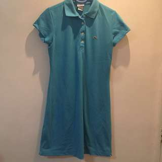 Authentic Lacoste Sky Blue Dress