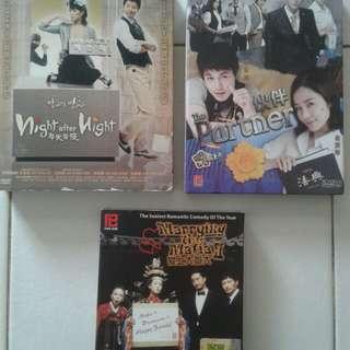 Korean Drama DVDs VCD