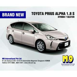 Toyota Prius Alpha 1.8S Hybrid