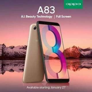 New Oppo A83 bisa kredit