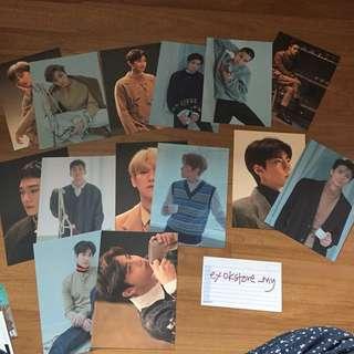 EXO SUM Official Universe Postcard