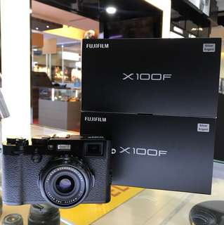 Fujifilm X100F Camera *OFFER* Fujifilm Malaysia Set