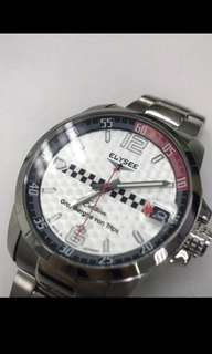 Mens Elysee Automatic metal band watch