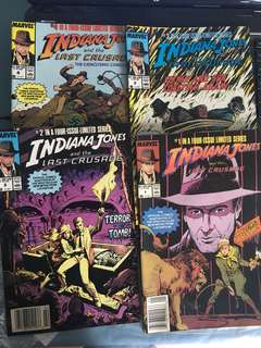 Indiana Jones four issue limited series