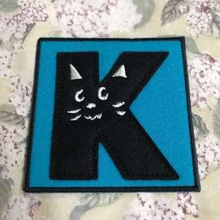 📮包平郵🆕Ne-net『K』brooch 日本製胸針
