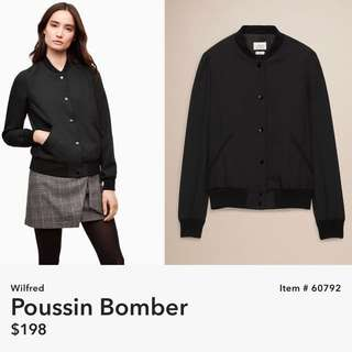 Wilfred Poussin Bomber