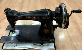 Vintage (SINGER Sewing machine)working condition