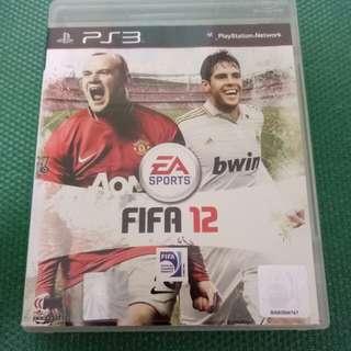 PS3 FIFA 12 (Original, Used)