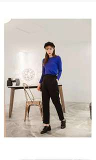 Imoda Plus Formal Work Pants in BLACK
