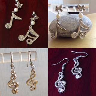 🎶 Musical Note Ear Ring