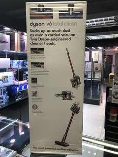 (3月特價, 只做5隻) Dyson V6 Total Clean 英國版 (香港電壓/三腳插頭)