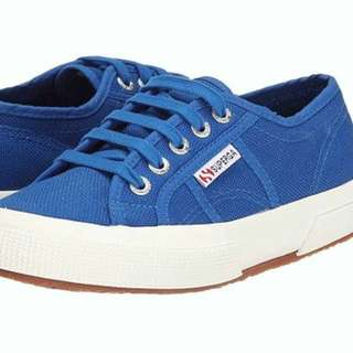 Instock! - BNWT Superga Cotu 2750 Classic in Sea Blue (Cobalt) Sneakers / Shoes