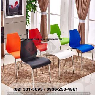 Plastic-Stackable Chairs ( office partition ) furniture*