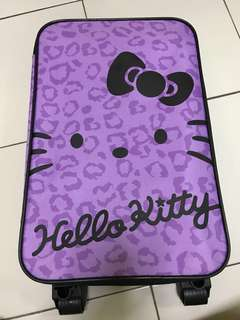 Hello Kitty Luggage Bag with Roller