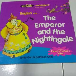 Children book_The Emperor and the Nightingale