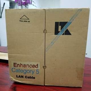 Cat 5e Cable (1 box ~1000ft)