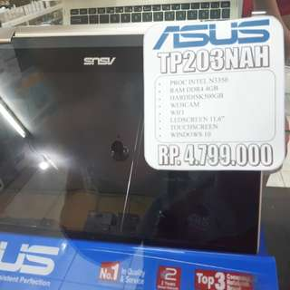 Cicilan Asus TP203NAH Free 1x Angsuran