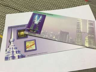 Petronas Twin Tower presentation Pack stamp
