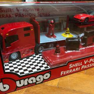 Shell Truck collectible set