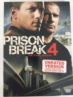 Prison break season 4 dvd