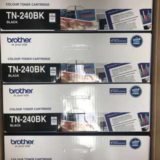 Brother TN240BK TN-240BK black toner 碳粉