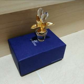 Swarovski 水晶花飾品