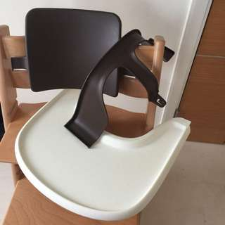 Tripp trapp Brown baby seat set only