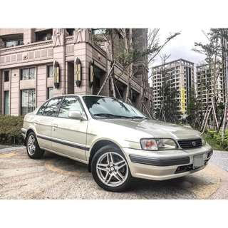 2000年 TOYOTA TERCEL 1.5L 實車實價 內裝乾淨 倒車雷達 皮椅 可履約保證無重大事故泡水非營業用車
