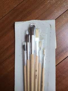 IKEA acrylic paintbrushes set