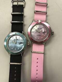Rolex playful style nylon watch
