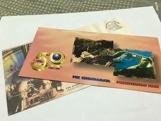 Tenaga Nasional Presentation Pack stamp