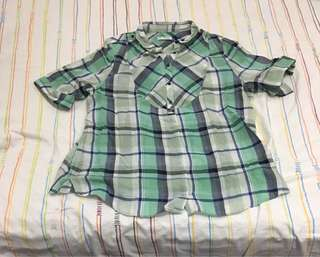 Checkered Blouse 001