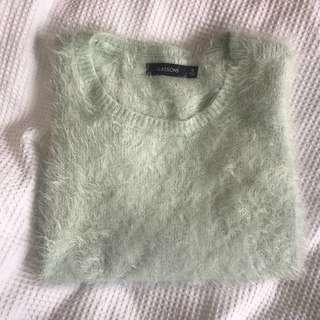GLASSONS fluffy jumper