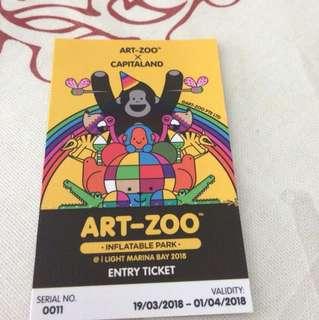 art zoo ticket