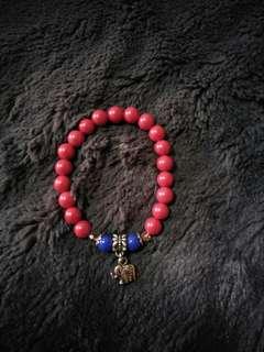 珠砂大象造型手珠