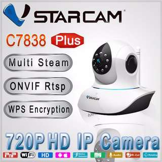 Vstarcam C7838WIP Plus 720P High Quality Lens