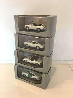 1/43 Porsche Collection Police Cars.