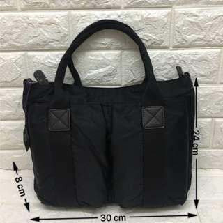 🚚 韓國  JCRISC防潑水搭真牛皮手提袋