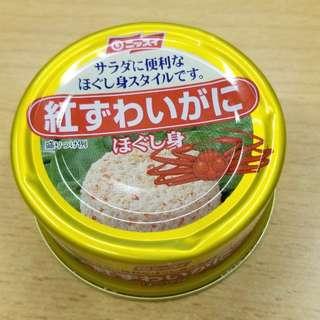 missui 紅松葉蟹肉罐頭