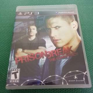 PS 3 Prison Break :THE CONSPIRACT