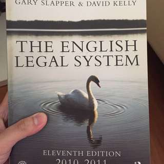 The English Legal System (11th Eds)